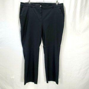 Lane Bryant Pants Work Career Office Black   N1379